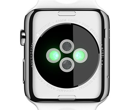 apple watch achterkant