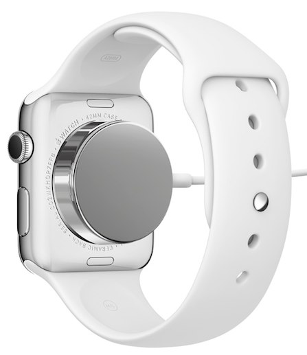 apple watch met oplader